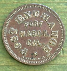 Fort Mason San Francisco California Military Good For Token Post Exchange