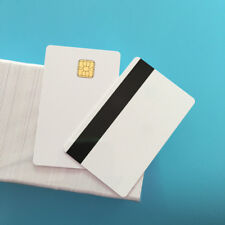 Sle4428 Hi Co 3 Track MagStripe White Printable Contact Smart Pvc Card 200Pcs