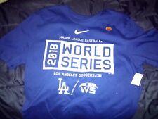2018 LA Los Angeles Dodgers World Series Nike Shirt Women's M Medium