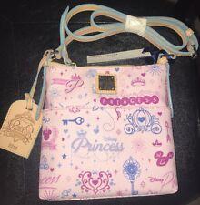 Disney Dooney & Bourke Purse Princess Marathon 2014 Letter Carrier Crossbody