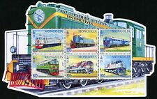 Mongolei Mongolia 2017 Eisenbahn Lokomotiven Trains Locomotives 4012-4017  MNH