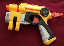 Nerf N Strike Nite Finder EX-3 Light Beam Targeting Battery Yellow Tested Works