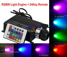RGB LED Fiber Optic Star Ceiling Light Engine +24IR Remote Control
