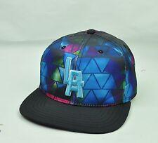 MLB American Needle Los Angeles Mens Hat Cap Neon Colors Snapback Flat Bill
