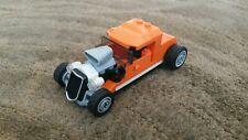 LEGO City Hot Rod Custom Orange  with Orange Roof   - 60048 - No Box/Figs