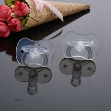 1 Pcs Newborns Baby Pacifiers Safety Soft Silicone Bite Gags Pacifier Care EP