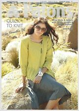 VAT Free Hand Knitting PATTERN ONLY Patons DK Quick Knits Vests Jackets 3772 New
