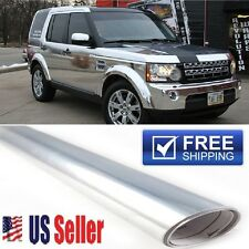5FTx4FT Silver/Chrome Vinyl Film Paint/Surface Protection Wrap DIY Customize