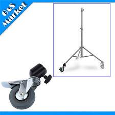 1pcs Photo Studio Wheel Heavy Duty Universal Caster Wheel For Light Stand Tripod