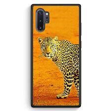 Leopard Samsung Galaxy Note 10+ Plus Silikon Hülle Motiv Design Tiere Schön C...