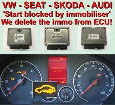 VW Skoda SEAT IAW4MV - IAW4LV ECU Immobiliser bypass / delete 'Immo off' service