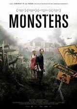 MONSTERS (LIMITED STEELBOOK ED - EDWARDS,GARETH  2 DVD NEUF