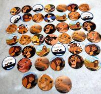 Lion King Vintage Disney Movie Milk Pogs Slammers Lot Of (39) Simba Mufasa #14