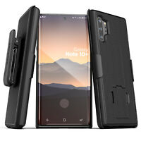 Samsung Galaxy Note 10 Plus Case Belt Clip w Kickstand Cover Holster