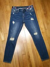 Miss Me Skinny Jeans Size 31  Distressed Mid Rise Medium Wash Distressed NWT