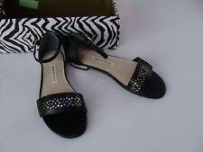 Dana Buchman Kirby Size 6.5 Black NEW Shoes Womens $59.99 Sandals Silver