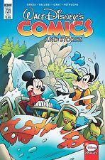 WALT DISNEY COMICS & STORIES #731 Subscription Cover NM- IDW Comic - Vault 35