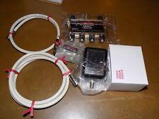 4 Port Cable TV/HDTV/Digital Amplifier kit, Internet Modem Signal Booster