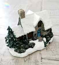 Thomas Kinkade Light Up House Figurine (No Batteries Included)