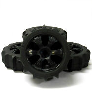 18102 180121 1/8 Scale Sand Snow Buggy RC 6 Spoke Wheels and Tyres Black x 4