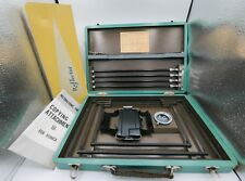 Rare Konica Copying Attachment III Rangefinder Camera Copying Stand & Filter Set