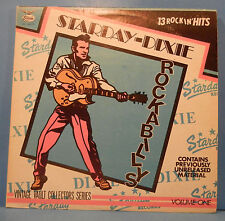 DIXIE STARDAY ROCKABILLY'S VOL 1 VINYL LP 1970 ORIGINAL GREAT COND! VG++/VG+!!