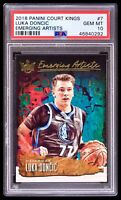 POP 6 PSA 10 Luka Doncic RC 2018-19 Court Kings Emerging Artists Pristine Rookie