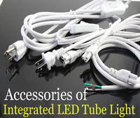 T8 tube Connector Flexible Cable Wire Extension Cord For Integrated Led Tube
