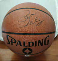Pat Riley Signed Spalding Indoor/Outdoor Basketball - Global Authentics