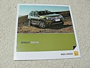 2011 BRAZILIAN RENAULT DUSTER SALES BROCHURE.....