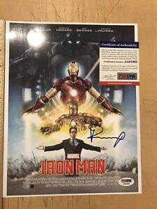 Psa Robert Downey Jr signed IronMan photo PSA/DNA Auto Rare Picture Avengers