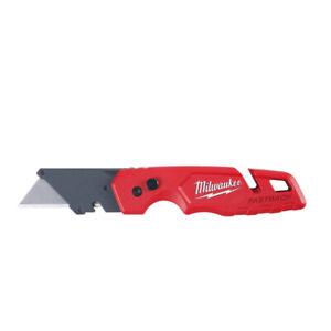 NEW MILWAUKEE 48-22-1501 FASTBACK FOLDING UTILITY RAZOR POCKET KNIFE