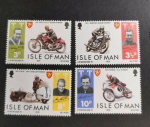 Isle of Man 1974 Motorcycle Race set  MUH B32