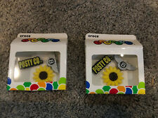 Post Malone X Crocs Jibbitz Charms 3-Pack, Sunflower, Bentley, Posty Co, RARE!!!