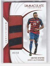 2018-19 Jozy Altidore #/50 Patch Panini Immaculate USA Magnificent