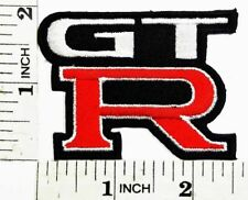 "NISSAN Nismo GTR Symbol 2.5"" x 1.9"" Iron-on or Sew-on Embroidered Patch Badge"