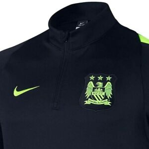 VF LSG Womens Majestic Soccer Manchester City Football Club Official Logo Fleece Long Sleeve Full Zipper Hoodie