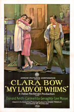 My Lady of Whims - 1925 - Clara Bow Donald Keith Vintage Silent Comedy Film DVD