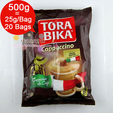 Box = 20 Bags * 25g/ Bag Torabika Cappuccino Instant Coffee Slimming Coffee