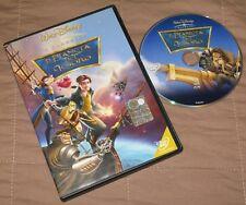 Il pianeta del tesoro - Walt Disney (DVD; 2002) Ologramma *BUONO*.
