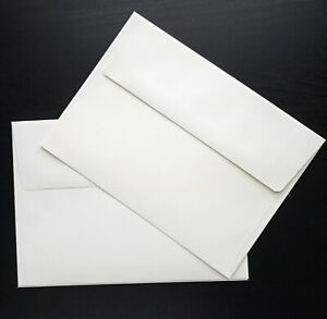 """50 Ivory Color A7 Wedding Invitation Envelopes - 5.25"""" x 7.25""""  for  5 x 7 cards"""