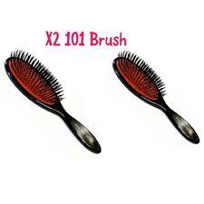X2 Head Jog 101 Hair Extension Nylon Cushion Hair Brush Duo Pack