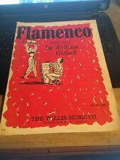 Vintage Sheet Music: Flamenco , , Piano Solo, William Gillock
