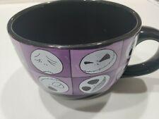 Nightmare Before Christmas Tim Burton Soup Cereal Mug Bowl 24 oz NEW