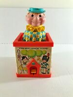 Original Vintage Fisher-Price Toys 1970 JACK in the BOX Puppet