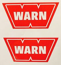 2X WARN Winch Decal Sticker Offroad Off Road Polaris RZR Jeep