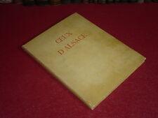 SPINDLER / CEUX D'ALSACE / ILLUSTRATIONS ELZINGRE / 1928 HdF