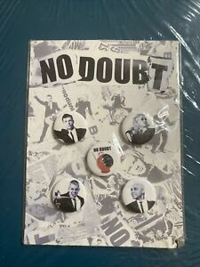 No Doubt pin set
