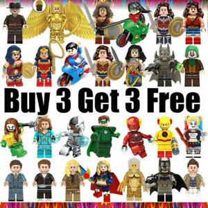 █ Buy 2 Get 1 Free █ - DC Superman Batman Joker Flash Custom Figure MOC Kids Toy