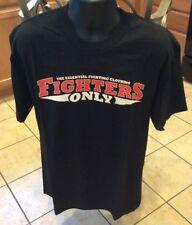 NEW ORIGINAL Fighters Only Gear MMA Fight Team MENS L T-Shirt - F.O. Magazine